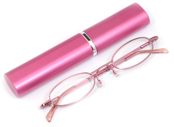 ペン型老眼鏡ピンクのご紹介