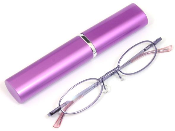 ペン型老眼鏡パープルのご紹介
