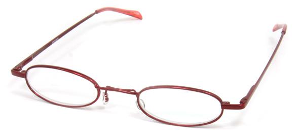 ペン型シニアグラス赤イメージ