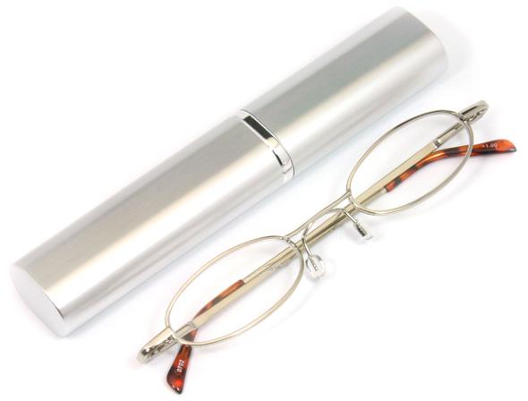 ペン型老眼鏡シルバーのご紹介