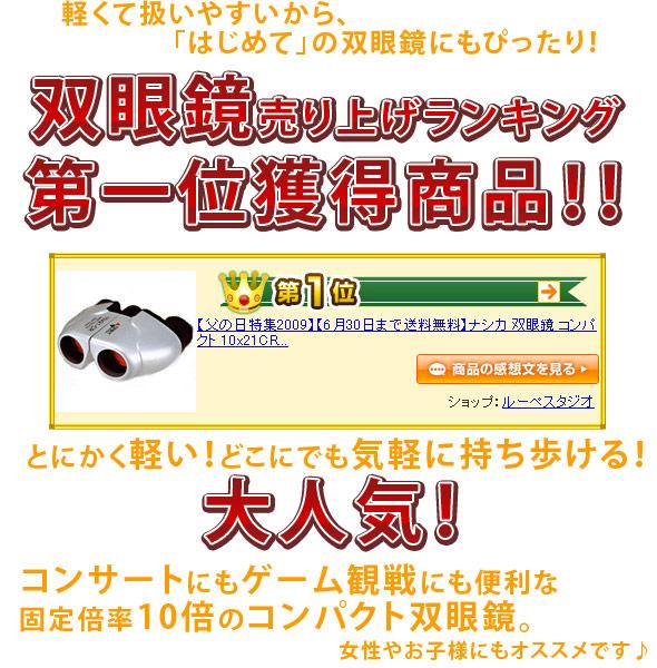 ナシカ10×21CR−IR