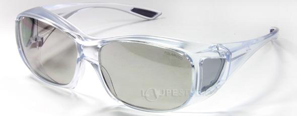 エロイコ 偏光オーバーグラス OS-1 クリア