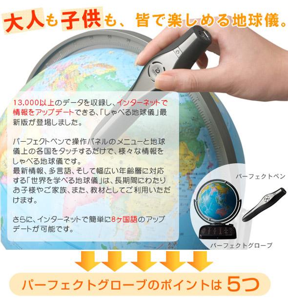 しゃべる地球儀、最新版