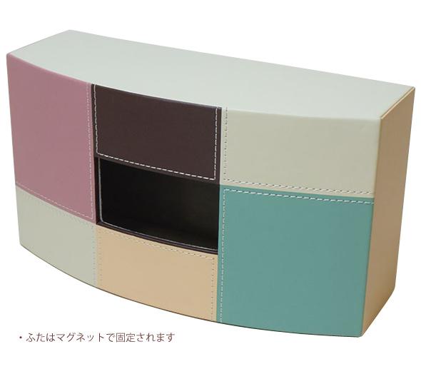 モザイク ティッシュボックス