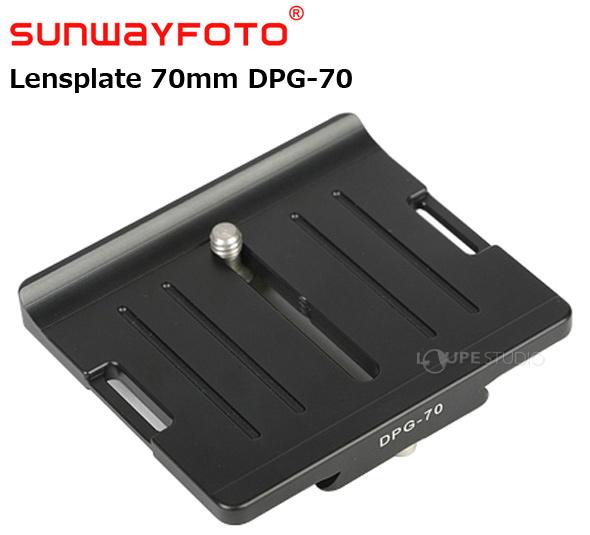 汎用クイック・リリースプレート Lensplate 62mm DPG-70
