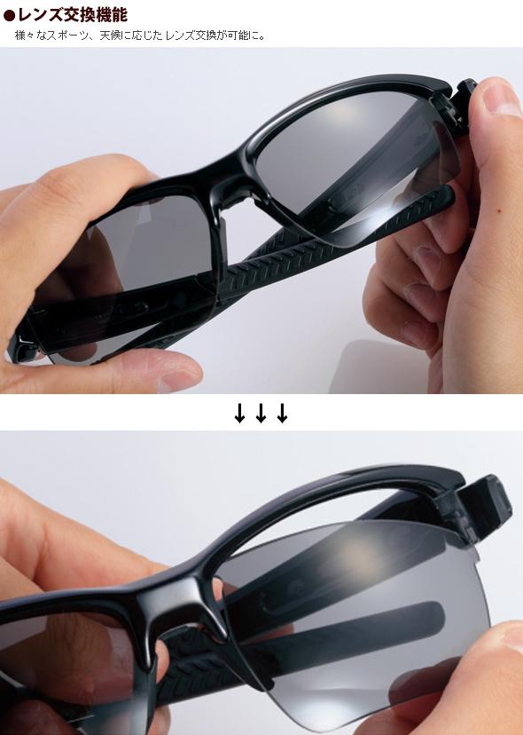 レンズ交換機能