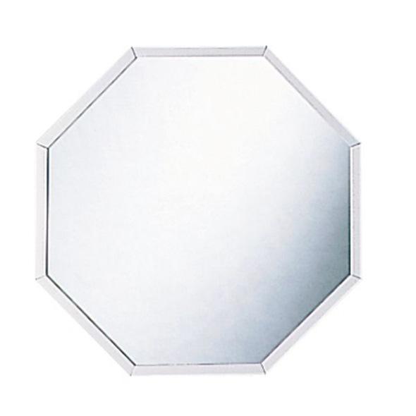 開運 八角 壁掛け鏡 シルバーS イメージ