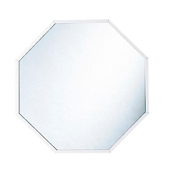 開運 八角 壁掛け鏡 シルバーLイメージ