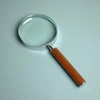 拡大鏡 [手持ちルーペ 虫眼鏡 虫めがね 天眼鏡] デラックスルーペ 1341 2.5倍 90mm 池田レンズ ルーペ 拡大鏡