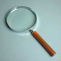 拡大鏡 [手持ちルーペ 虫眼鏡 虫めがね 天眼鏡] デラックスルーペ 1361 1.8倍 115mm 池田レンズ ルーペ 拡大鏡