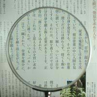 拡大鏡 [手持ちルーペ 虫眼鏡 虫めがね 天眼鏡] 木柄ルーペ 1451-P 100mm 池田レンズ ルーペ 拡大鏡