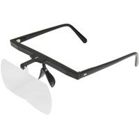 双眼メガネルーペ メガネ式 HF-30D HF-30E クリアルーペ メガネ型ルーペ 虫眼鏡 拡大鏡 手芸用ルーペ [裁縫] はね上げ式 ビーズ ネイル まつげエクステ 池田レンズ