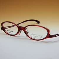 老眼鏡 [シニアグラス] カンダオプティカル スライト2 [アンティックローズ] 強度 男性 女性 おしゃれ