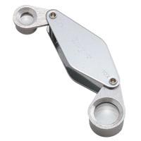 虫眼鏡 メタルホルダールーペ 7020-W 13mm [10倍] &8mm [20倍] 高倍率ルーペ 10倍&20倍 池田レンズ