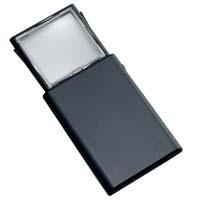 虫眼鏡 スライド ポケットルーペ ライトルーペ 730 2倍 45×45mm 池田レンズ