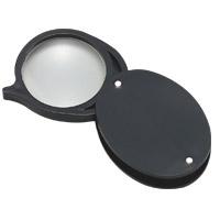 虫眼鏡 プラスチック枠ルーペ 7810 4倍 30mm 携帯用 池田レンズ