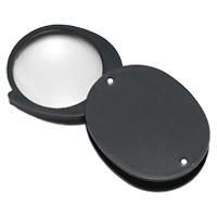 虫眼鏡 プラスチック枠ルーペ 7910 4倍 36mm 携帯用 池田レンズ