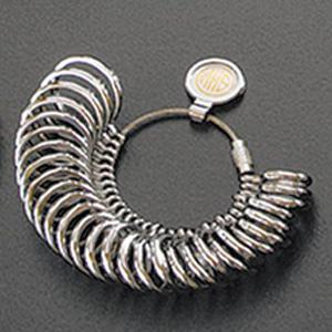甲丸リングゲージ リングゲージ リングゲージ棒 おすすめ 指輪 サイズ 計測 測る 測定 ゲージ サイズ直し 調整