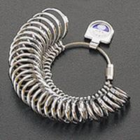 内甲丸リングゲージ リングゲージ おすすめ 指輪 サイズ 計測 測る 測定 ゲージ サイズ直し 調整