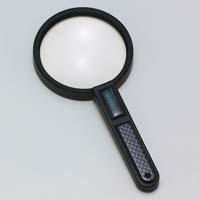 虫眼鏡 拡大鏡 非球面 高倍率 ハンドルーペ AS-14 3.5倍 90mm 池田レンズ ルーペ 拡大鏡