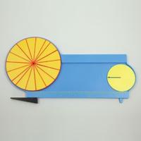 円周と円の面積 説明器 7649 面積 円 さんすう 算数 学習 算数 学校教材 教材