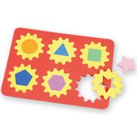 パズル ゲーム 幼児 エンジョイ かたちパズル 玩具 おもちゃ ベビー 子供 キッズ クリスマス お正月 形合わせ 図形 遊び