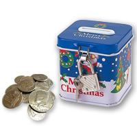アーテック クリスマス 鍵付き貯金箱 玩具 貯金箱 おもちゃ ベビー 幼児 子供 クリスマス お正月