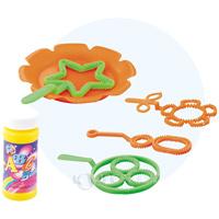 シャボン玉 たのしいシャボン玉セット ランダムカラー しゃぼん玉 水遊び 知育玩具 外遊び