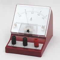 計測器 AT直流電流計 0.6-3A 計測器 実験 電圧計 学校教材 電気 理科