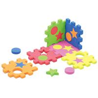 ブロックパズル EVA ブロック パズル 知育玩具 パズル おもちゃ 幼稚園 幼児 子供 学習教材 知育玩具