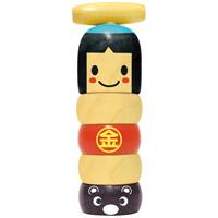 だるまおとし 金太郎 知育玩具 木のおもちゃ ダルマ落とし 体験学習 教材 ゲーム 知育玩具 2歳 3歳 4歳 5歳