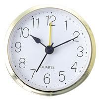 丸型時計 アラーム付 ゴールド 時計 クロック