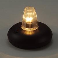 電池式ランプ台 電池付 テーブルランプ アンティーク ライト 置き型 卓上 デスク 小型 おしゃれ おすすめ 工作用 コードレス 子供 光