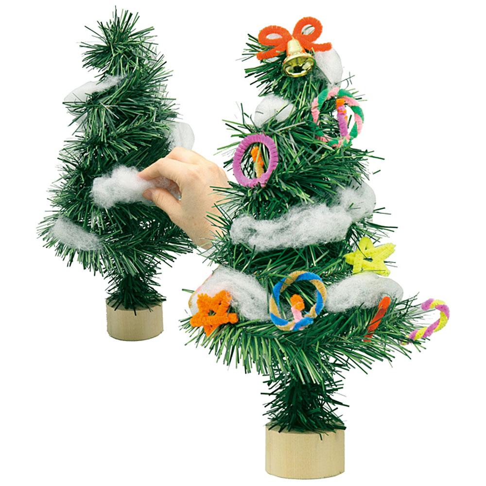 ミニ クリスマスツリー おしゃれ 卓上 手作りキット オリジナル 飾り 雑貨 置物 リース 玄関 材料 オブジェ