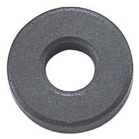 丸型フェライト磁石[10コ入]穴アキ[直径2×0.5cm] 磁石 実験 理科