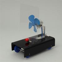 ウインドカー実験器 風 実験 理科 学校教材 知育玩具 自由研究