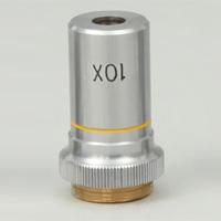 対物レンズ10倍[鏡筒上下用] 顕微鏡 対物レンズ 拡大 観察 実験 理科 学校教材 知育玩具 自由研究