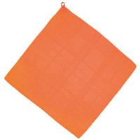 ループ付カラースカーフ オレンジ クリスマスプレゼント