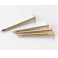 しんちゅうメッキ釘 25mm 100本 くぎ 釘 DIY 大工 クリスマスプレゼント