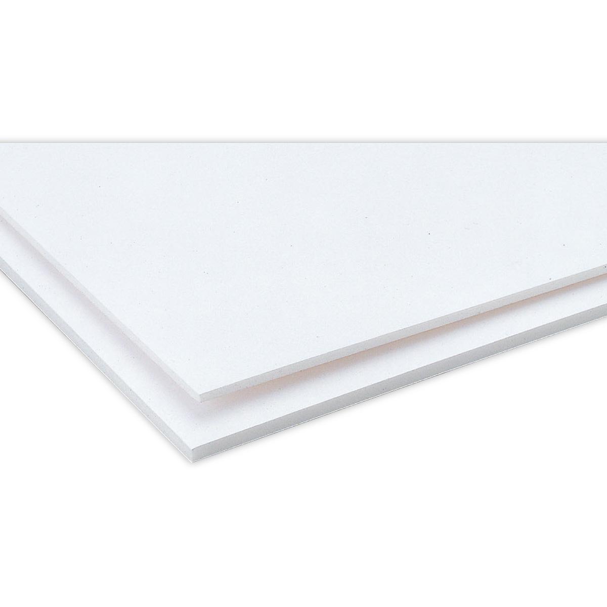 紙貼りスチレンボード 両面白紙貼済 400x550x3mm ボード 工作 教材 材料 学習教材 理科 アーテック