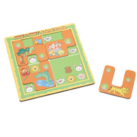 アニマルかくれんぼ 知育玩具 幼児 パズル 保育園 幼稚園 おもちゃ 子供 クリスマスプレゼント