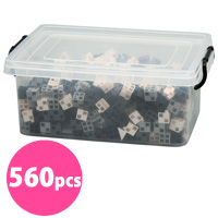 ブロック おもちゃ アーテックブロック モノトーンカラーセット 立体文字・モニュメント作品 560pcs アーテック 日本製 カラーブロック 日本製 ゲーム 玩具 レゴ・レゴブロックのように自由に遊べます