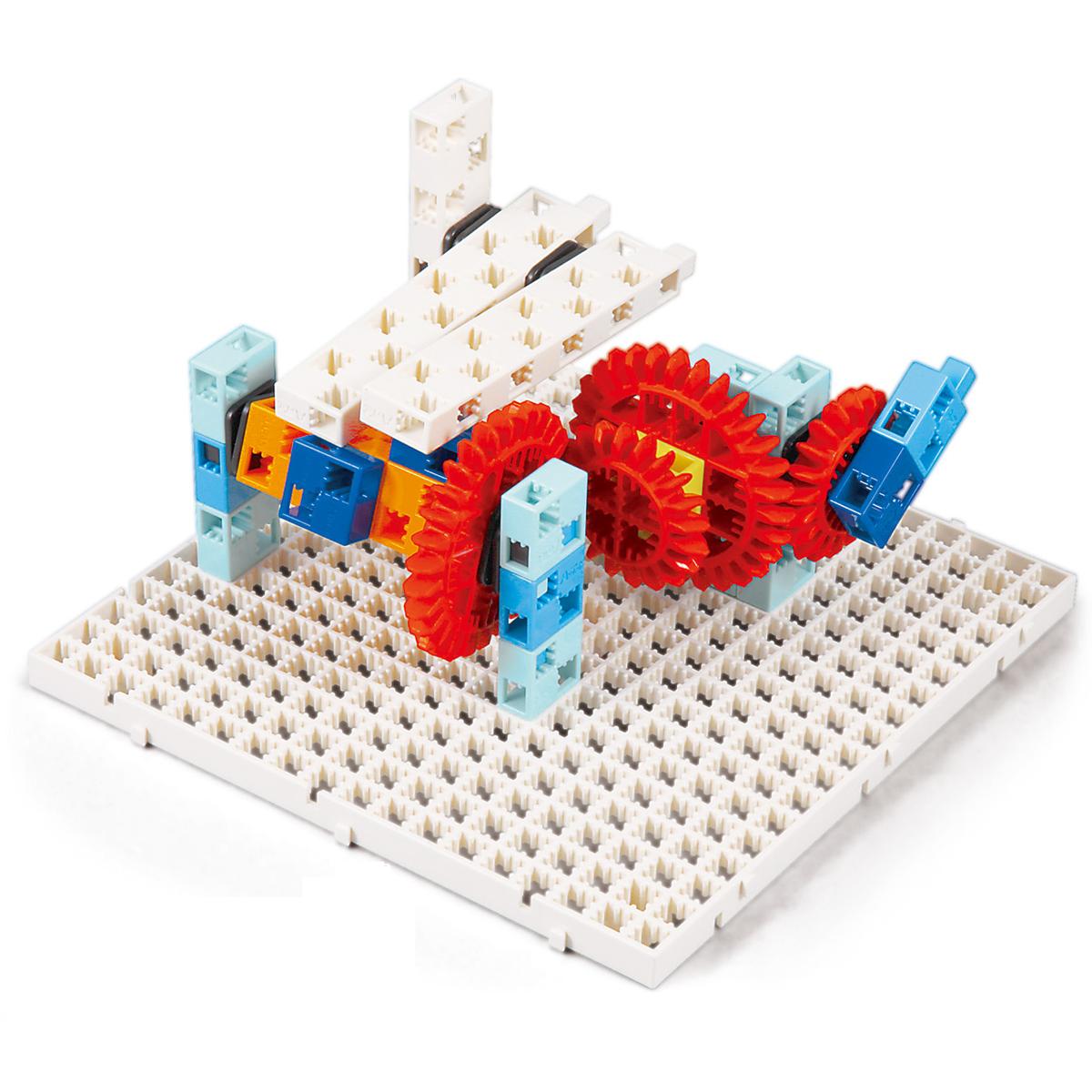 アーテックブロック ブロック おもちゃ リンク・ギヤ学習セット アーテック 日本製 知育玩具 ブロック 組み立て 学習 運動のしくみ 理科 レゴ・レゴブロックのように遊べます