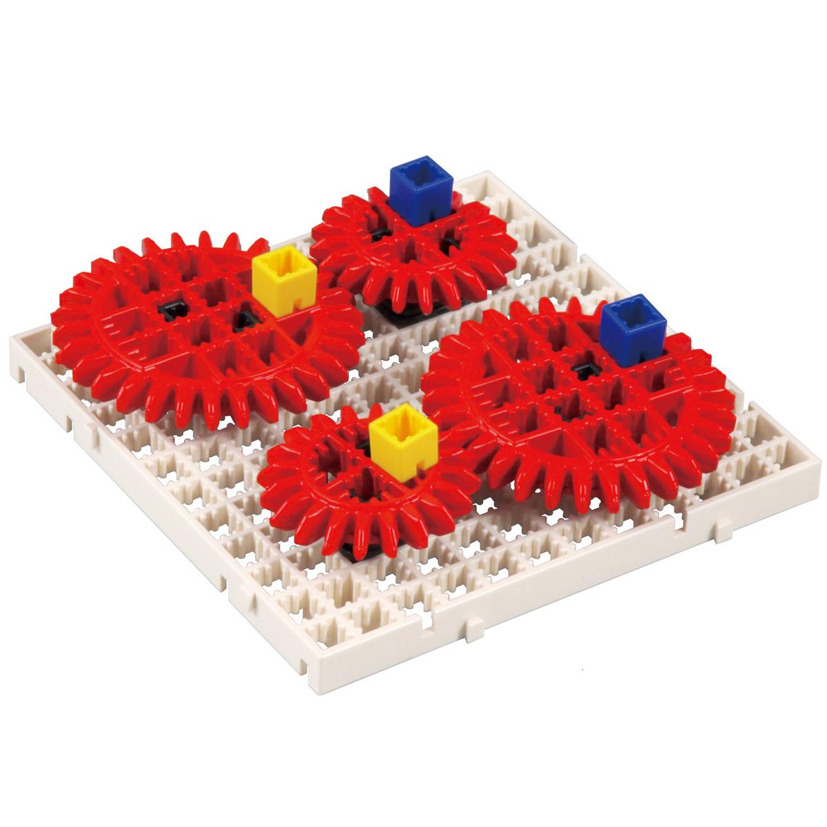 アーテックブロック部品 アーテックブロック ブロック かいてんギヤセット 歯車 日本製 知育玩具 動力伝達 学習 運動のしくみ 理科 レゴ・レゴブロックのように遊べます パーツ クリスマスプレゼント