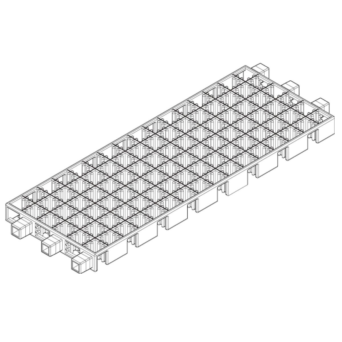 アーテックブロック部品 マルチベースA 日本製 知育玩具 ブロック 組み立て キッズ 幼児 レゴ・レゴブロックのように遊べます