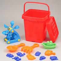 バケツ付き お砂場セット 007074 アーテック 砂場 セット おもちゃ クリスマスプレゼント