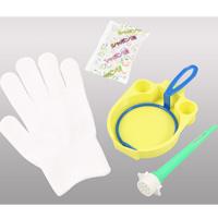 手のひらシャボン しゃぼん玉 おもちゃ 玩具 手袋 触れる シャボン玉