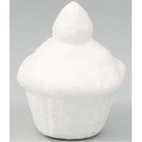 カップケーキ型発泡スチロール 10個組 ねんど 粘土 型のみ スイーツ 手作り 工作キット 夏休み 自由研究 玩具 クリスマスプレゼント