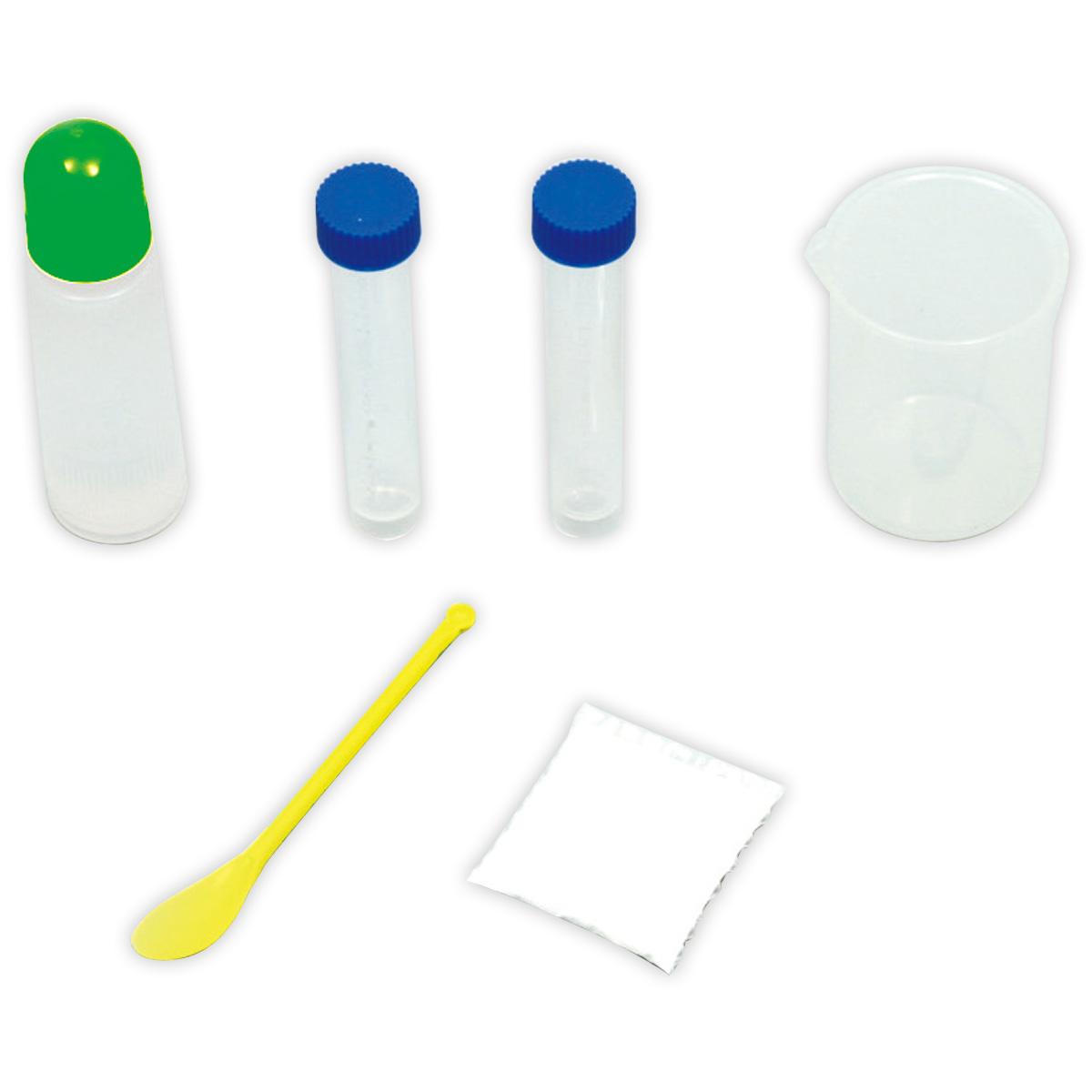 5種類のおもしろ化学実験キット 055818 アーテック 学校教材 試験管 中和 ダイラタンシー チーズ スーパーボール クリスマスプレゼント