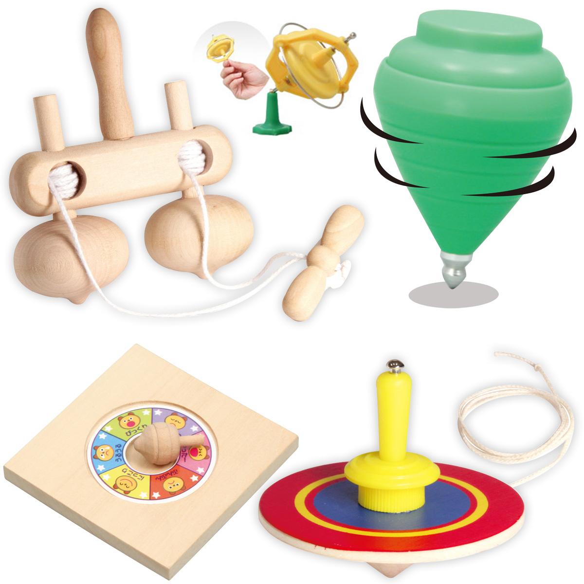 コマわくわくセット 2個 ランダム 子供 ゲーム おもちゃ こま回し 冬休み 玩具 お正月 クリスマスプレゼント